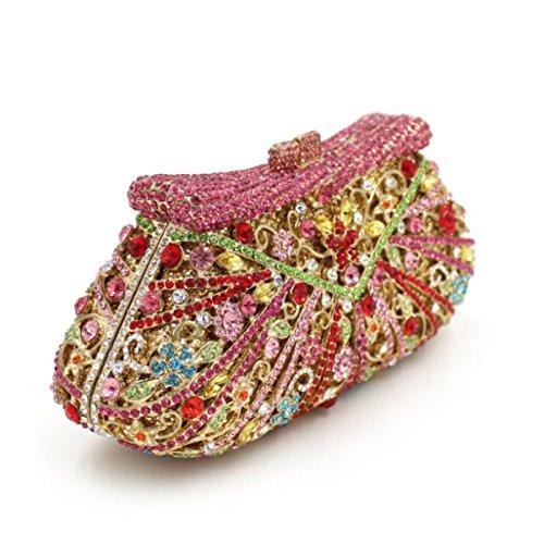 Sac En Main De F Sac Diamond Diamant Crystal Luxe De Soirée à 7qnxEgw4Y