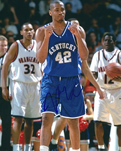 Autographed Jamal Magloire Kentucky Wildcats 8x10 Photo -