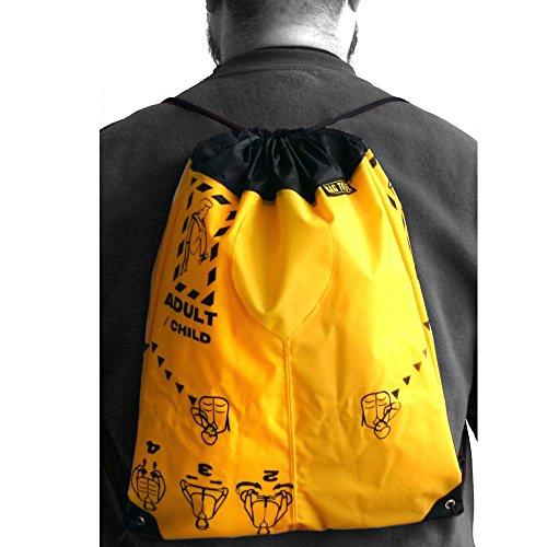Bag to Life Tasche Sky Gym Bag schwarz - Sportbeutel