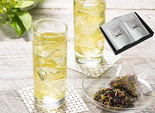 [きよ泉] 京都茶匠 宇治茶アールグレイ 煎茶 緑茶 ティーバック フレーバー ティー ギフト (30パック入り) 贈り物 爽やか ベルガモット お茶