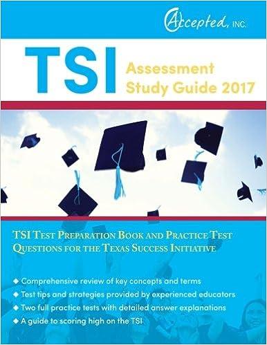 TSI Assessment Study Guide 2017: TSI Test Preparation Book and ...