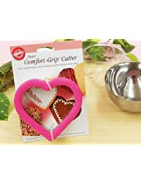 Gain 1 X Wilton Comfort Grip Heart Cookie Cutter Stainless Steel 4