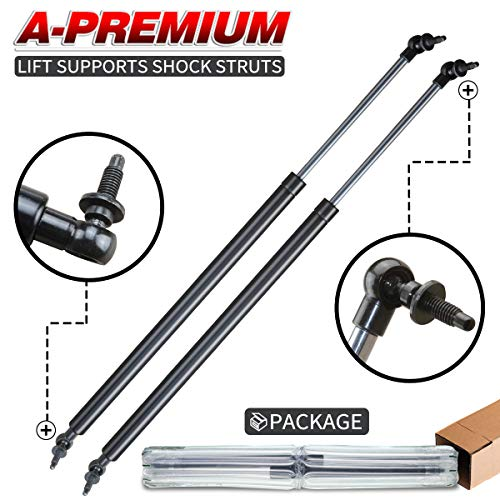 A-Premium Tailgate Rear Hatch Lift Supports Shock Struts for Chrysler PT Cruiser 2001-2008 Wagon 2-PC Set