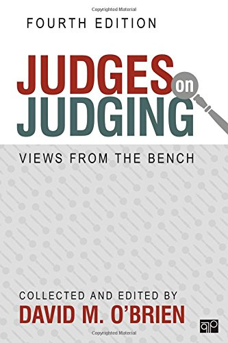 Judges On Judging:Views From Bench