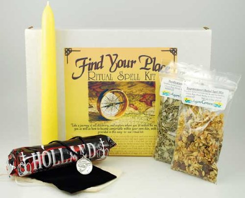 Fortune Telling Toys Boxed Magic Spell Kit Find Your Place In The World by AzureGreen
