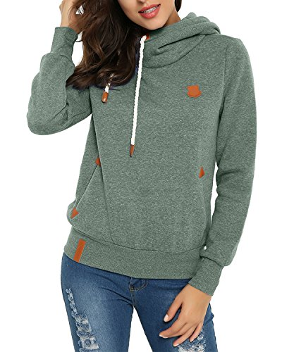 ZANZEA Fashion Loose Pullover Womens Cotton Hoodies - 1