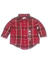 Ralph Lauren Baby Boys Long Sleeves Plaid Twill Work Shirt 9 Months