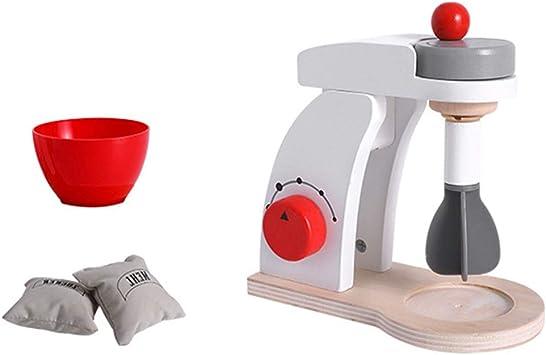 Dpolrs Juguetes para niños Mezclador Pop Up Tostadora Cafetera de Madera Juego de imaginación Juego de Cocina con Accesorios: Amazon.es: Electrónica