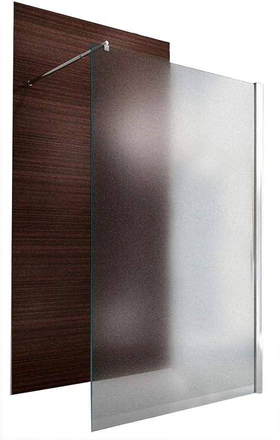 Unbekannt Mampara Walk de en nano EchtGlas EX101 – Vidrio opalino – Ancho estampada, 1100mm: Amazon.es: Hogar
