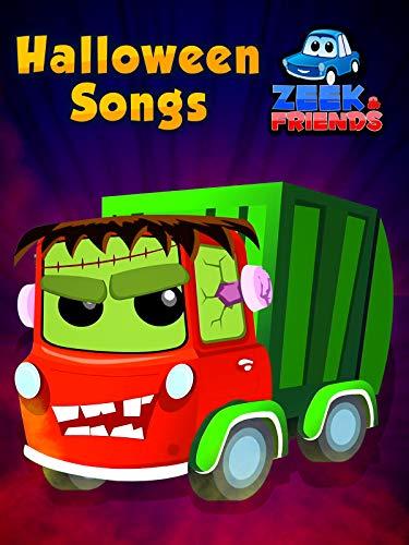 This Is Halloween Cartoon Movie (Halloween Songs - Zeek And)