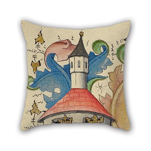 [Loveloveu Pillowcase 16 X 16 Inches / 40 By 40 Cm(twice Sides) Nice Choice For Adults,son,living Room,gril Friend,bedroom,him Oil Painting Master Of Guillebert De Mets (Flemish, Active About 1410] (Pictures Of Punk Rocker Costumes)