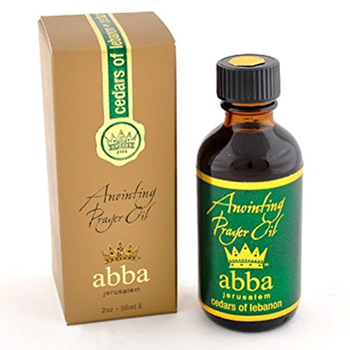- Anointing Oil-Cedars Of Lebanon In Gold Box-2oz