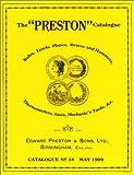 img - for The Preston Catalogue: Catalogue No 18/May 1909 book / textbook / text book