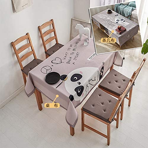 chenbyyao Paño nórdico Impermeable Simple 50 * 150 cm (Mantel ...