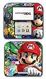 #2: Mario Kart 8 Luigi Yoshi 7 Bowser Glider Video Game Vinyl Decal Skin Sticker Cover for Nintendo 2DS System Console
