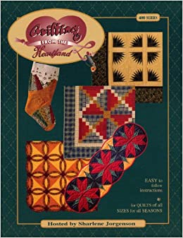 Quilting From the Heartland 400 Series: Sharlene Jogenson: Amazon ... : quilting from the heartland - Adamdwight.com