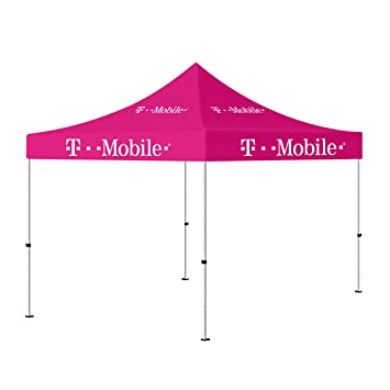 10 x 10 Portable Outdoor Canopy Tent Pink  Pop up Shelter (T-Mobile  sc 1 st  Amazon.com & Amazon.com: 10 x 10 Portable Outdoor Canopy Tent Pink  Pop up ...