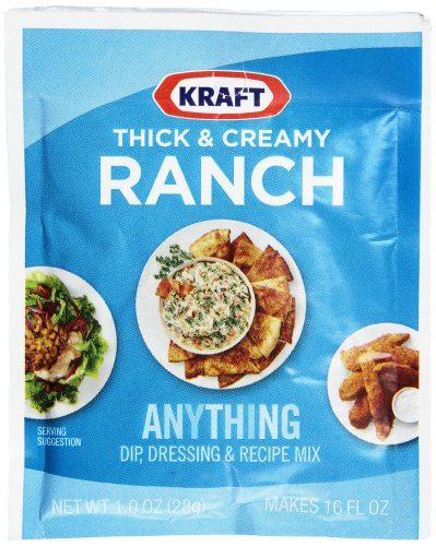 - Kraft Thick & Creamy Ranch Dip Recipe Packet (1 oz Packet)