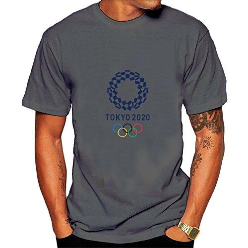 Men's olympic tokyo 2020 Tee XXL Gray