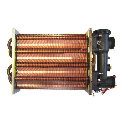 Hayward FDXLHXA1400 Heat Exchanger Assembly Replacement for Hayward H400FD Universal H-Series Low Nox Pool Heater (Hot Tub Heat Exchanger)