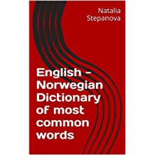English - Norwegian Dictionary of most common words