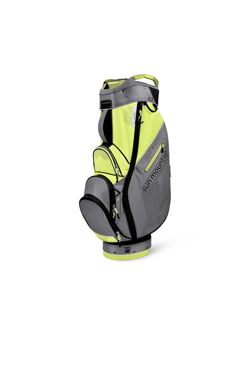 Sun Mountain golf- Ladies 2016同期カートバッグ  BLACK/ GREY/ LIMEAID B011EG4VC6