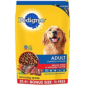Amazon.com: PEDIGREE Adult Complete Nutrition Grilled