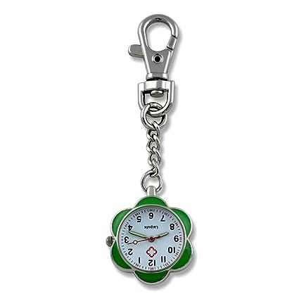 Dig dog bone Reloj de Enfermera con diseño de Hueso de Perro y Esfera de Acero