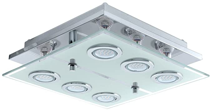 Plafoniere Inox Soffitto : Soffitto pavimento acciaio inox lampada led 12 watt plafoniera vetro