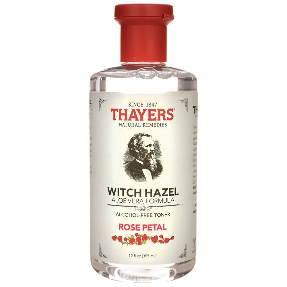 Thayers Natural Remedies Witch Hazel Aloe Vera Formula, Clear, 12 Fl Oz