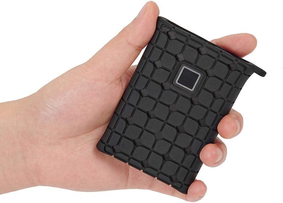 Und Sto/ßfeste Schutzh/ülle SSD-H/ülle F/ür Samsung T7 Festplatte Festplatte Silikonh/ülle Festplatte Rutschfeste Schutzh/ülle Kratz