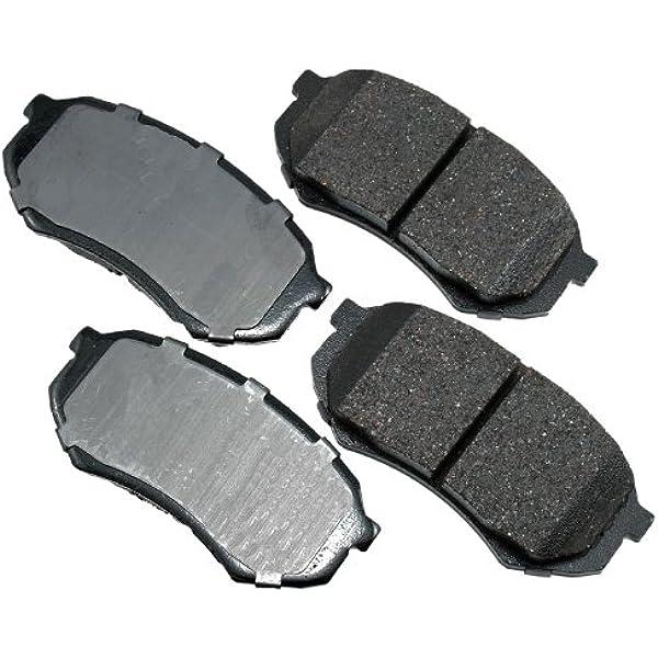 Disc Brake Pad Set-ProACT Ultra Premium Ceramic Pads Front Akebono ACT436