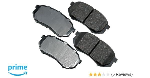 Akebono ACT436 ProACT Ultra-Premium Ceramic Brake Pad Set