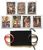 Chicago Bulls Cards Michael Jordan, Scottie Pippen, Dennis Rodman, Ron Harper, Toni Kukoc, Luc Longley 1997-98 Finals Team Gift Pack