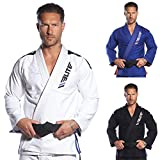 Elite Sports IBJJF Ultra Light BJJ Brazilian Jiu Jitsu Gi W/ Preshrunk Fabric & FREE BELT