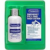 PhysiciansCare Eyewash Station, Single 32 oz. Screw Cap Bottle