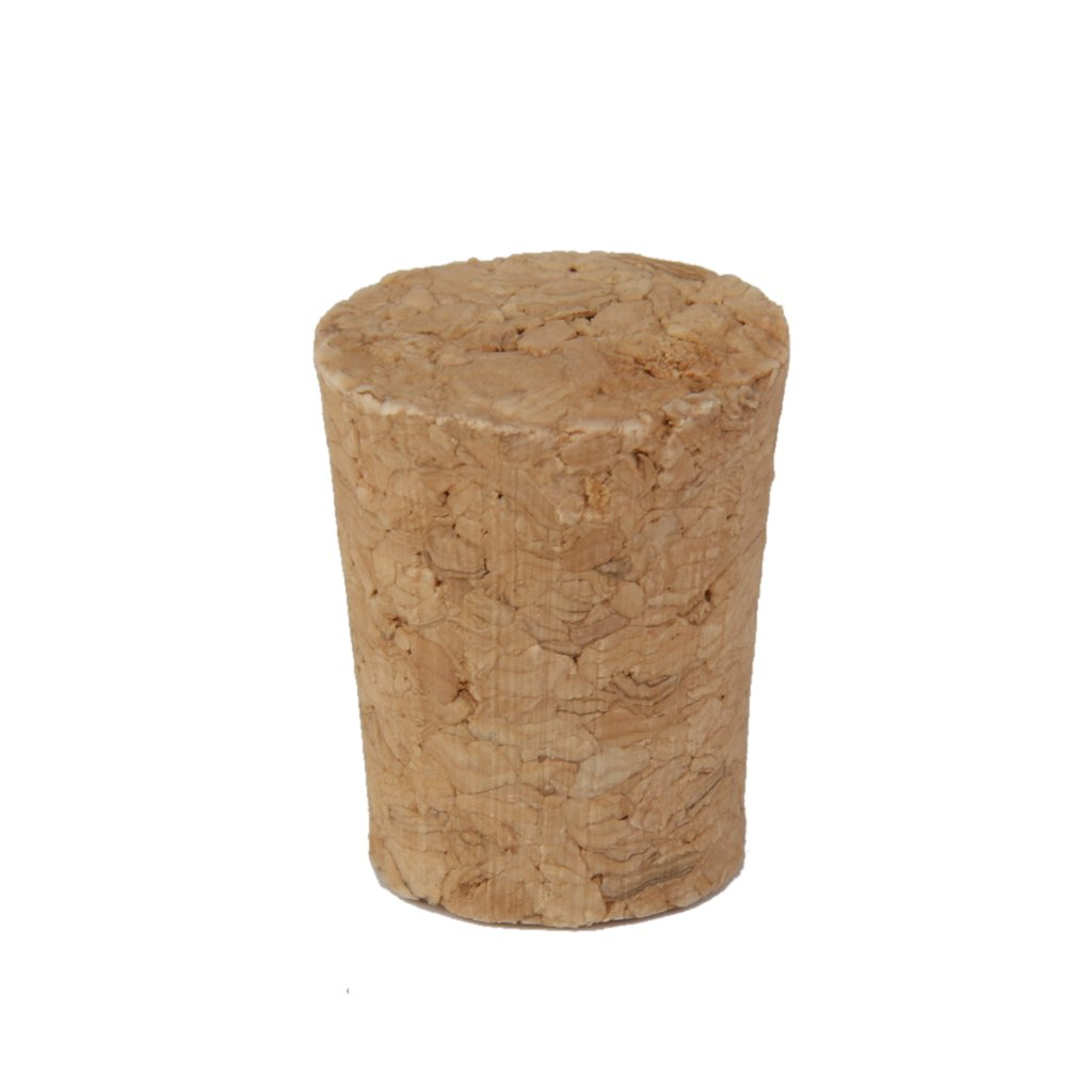 10pcs Tapered Wooden Cork Bung Stopper Tops for Bottle Jar Craft 22mm x 17mm x 26mm Generic AEQW-WER-AW143064