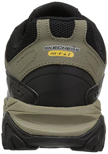 Skechers Men's 50124 Oxford, Brown, Small Pebble/Black