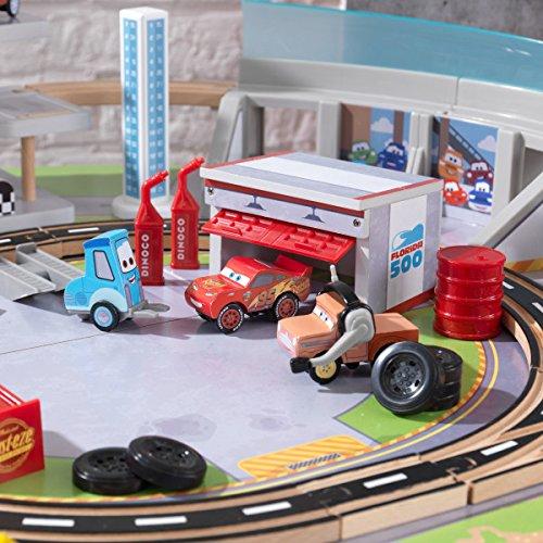 Kidkraft Disney Pixar Cars 3 Florida 55 Piece Wooden Track Set With