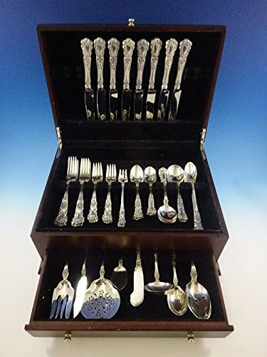 Buttercup by Gorham Sterling Silver Flatware Set 8 Service 72 pieces Dinner - Gorham Buttercup Dinner