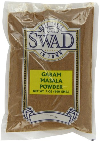 Swad Garam Masala, 7-Ounce (Pack of 6) by Swad