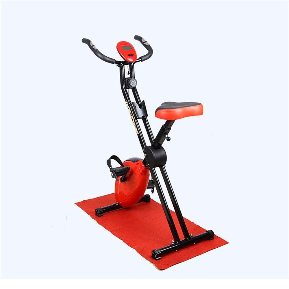 室内エアロバイク 屋内サイクリングバイク、サイクルトレーナーエクササイズ自転車の心拍数フィットネスステーショナリーバイク、LCDディスプレイ 調節可能なハンドルバー&シート   B07QFNWB3B