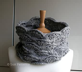 Crochet Stitches Amazon : Crochet patterns, girl, women men lace cowl pattern, scarf crochet ...