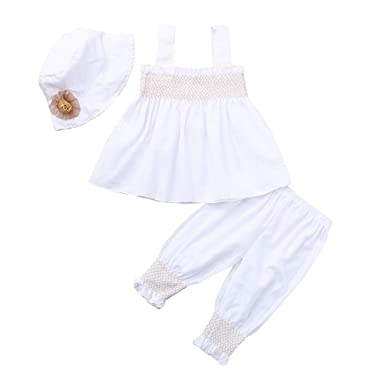 d069371abdce3 Bloomers, Diaper Covers & Underwear Newborn Baby Girls 2019 Summer Clothes  Outfits Cuekondy Cute Princess Dress+Plaid Shorts Pants Set 0-24 ...