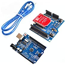 UNO R3 MEGA328P ATMEGA16U2 For Arduino + HC-06 RF Wireless Bluetooth Bee V2.0 Module + Xbee V03 Shield Board