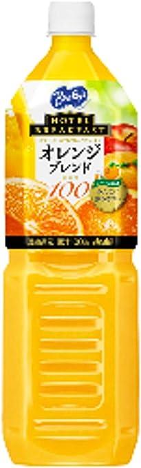 バヤリース オレンジブレンド100% [ペット] 1.5L 1500ml x 8本[ケース販売][アサヒ飲料/国産/飲料]