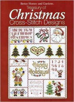 dens Treasury of Christmas Cross-stitch Designs (Alphabet Sampler Kit)