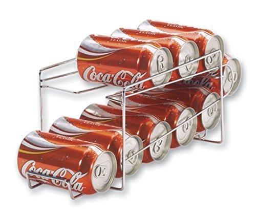 Better Houseware 1496.6 Beverage Can Dispenser, Chrome