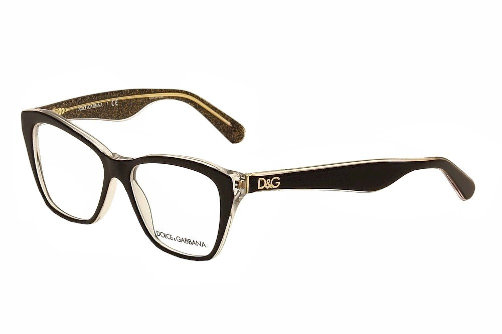 5b5ab38e855 Dolce and Gabbana Glasses 3167 2737 Black 3167 Cats Eyes Sunglasses   Amazon.ca  Health   Personal Care
