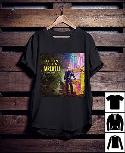 e6cf764624 Elton John Tour Farewell Yellow Brick Road T-Shirt